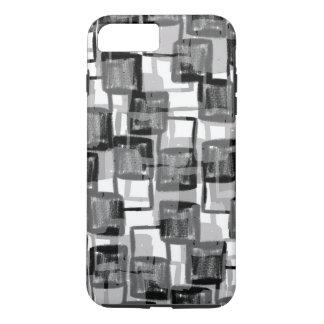 Monochrome Squares iPhone 8 Plus/7 Plus Case