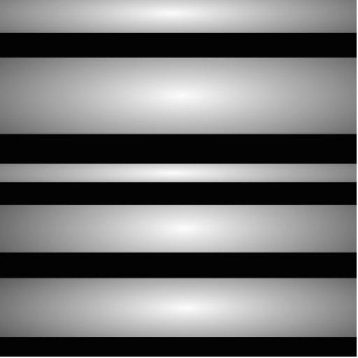 Monochrome Stripes Photo Cutout