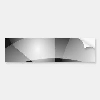 Monochrome Transition Bumper Stickers
