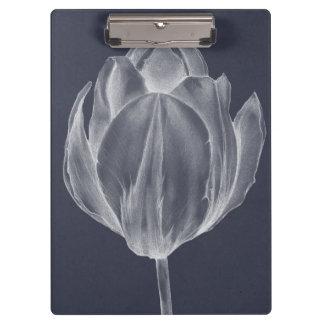 Monochrome Tulip I Clipboards