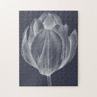 Monochrome Tulip I Jigsaw Puzzle