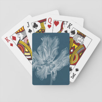 Monochrome Tulip II Playing Cards