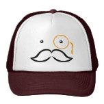 Monocle and Moustache Cap