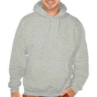 monocle moustache hooded pullover