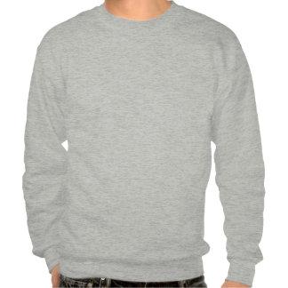 monocle mustache pull over sweatshirt