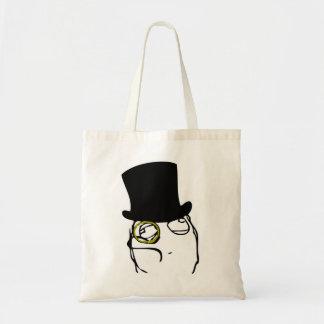 Monocled Sir Canvas Bag