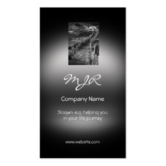 Monogram, A Journey Made, metallic-effect Pack Of Standard Business Cards