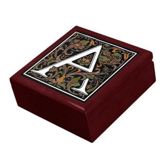 Monogram A large gift box