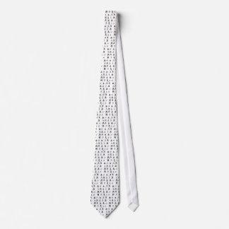 "Monogram ""A"" Tie"