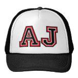 Monogram 'AJ' initials Cap