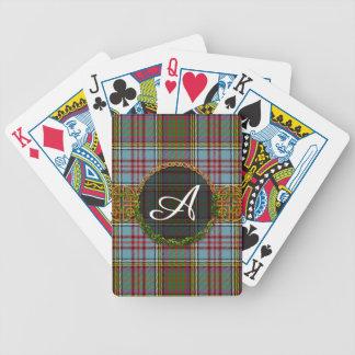 Monogram Anderson Tartan Deck Of Cards