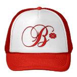 Monogram B Hat