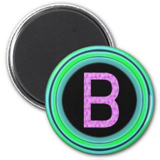 "Monogram ""B"" Magnet"
