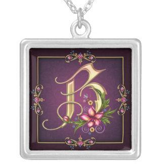 Monogram B Necklace
