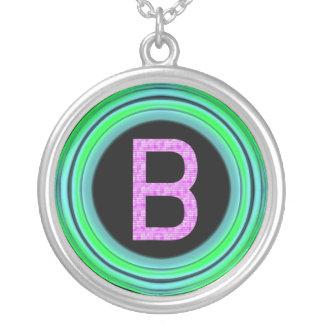 "Monogram ""B"" Pendant"