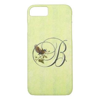 Monogram B Songbird iPhone 7 Case