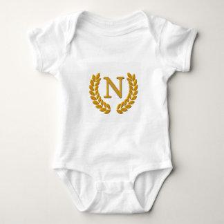 Monogram Baby Bodysuit