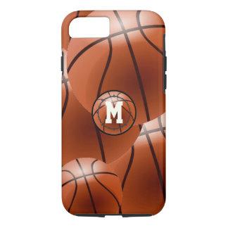 Monogram Basketball iPhone Case