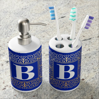 Monogram Bath Set