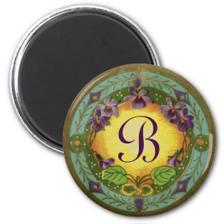 Monogram Belle Epoch French Violet Perfume Magnet