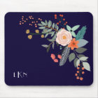 Monogram Botanical Mouse Mat
