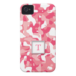 Monogram Camo Pattern iPhone 4 Cases