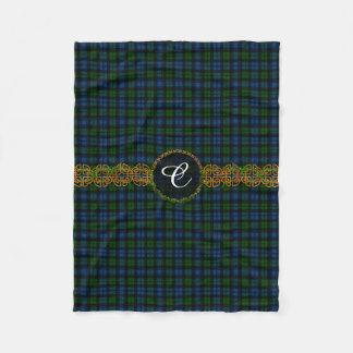 Monogram Campbell Military Tartan Fleece Blanket