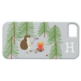 Monogram Camping Hedgehog Phone Case