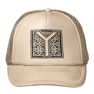 Monogram Cap