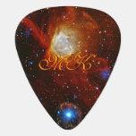 Monogram Celestial Bauble - SXP1062 space picture Plectrum