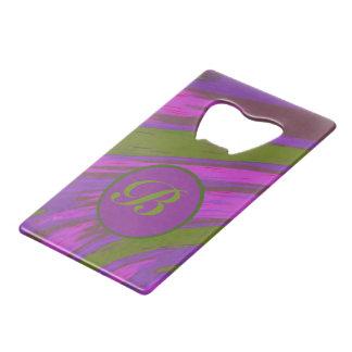 Monogram chartreuse green purple pink Color Swish