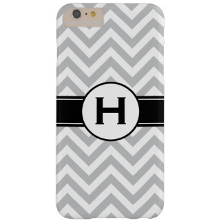 Monogram | Chevron Pattern Barely There iPhone 6 Plus Case