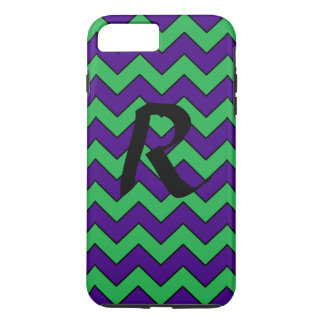 Monogram Chevron Phone Case