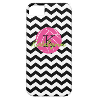 Monogram Chevron Zigzag Volleyball iPhone 5 Case
