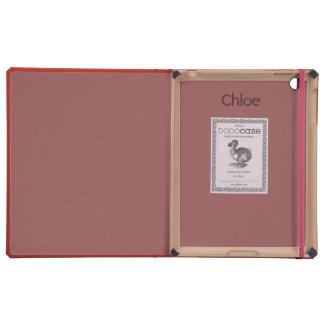 Monogram Coral DoDo Case Case For iPad