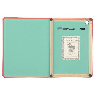 Monogram Coral iPad Air DODO Case Cover For iPad Air