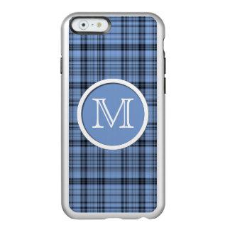 Monogram Cornflower Blue Plaid iPhone 6 Case Incipio Feather® Shine iPhone 6 Case