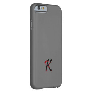 Monogram Cover Screen Protector for iPhone Barely There iPhone 6 Case