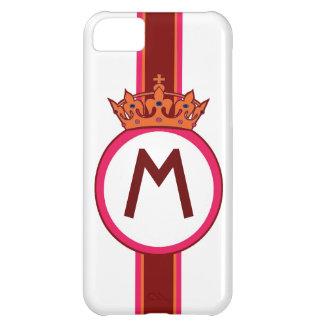 Monogram Crown crest initial custom iphone case iPhone 5C Case