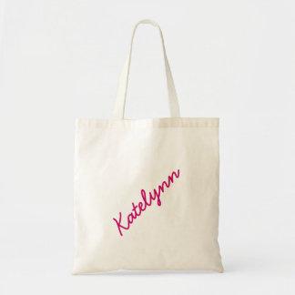 Monogram Custom Tote Bag