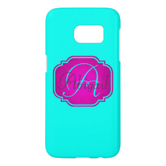 Monogram - Customizable Pink and Blue