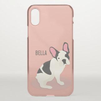 Monogram. Cute French Bulldog. iPhone X Case