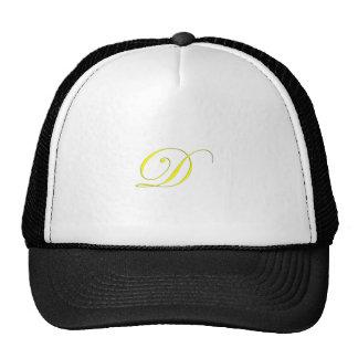 Monogram D Yellow Trucker Hat