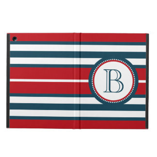 Monogram design iPad air cover