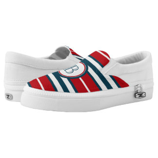 Monogram design Slip-On shoes