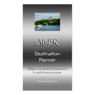 Monogram, Destination Planner, metallic-effect Pack Of Standard Business Cards