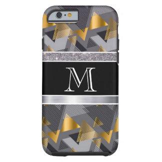 Monogram Diamonds Abstract Pattern Print Design Tough iPhone 6 Case