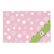Monogram - Dots, Spots (Dotted Pattern) - Pink