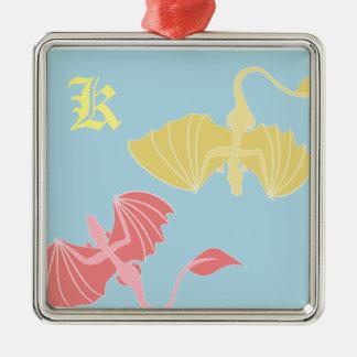 Monogram Dragon Ornament