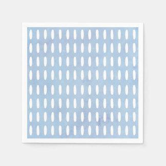 Monogram drop pattern napkin disposable serviette